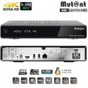 Mutant-Mut@nt HD51 4K Ultra HD E2 Linux Receiver & 1 x DVB-S2 4K Tuner