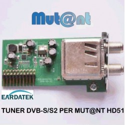 TUNER ORIGINALE DVB-S/S2 SIMPLE PER MUT@NT HD51