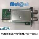 Tuner originale DVB-T2 SIMPLE per MUT@NT HD51