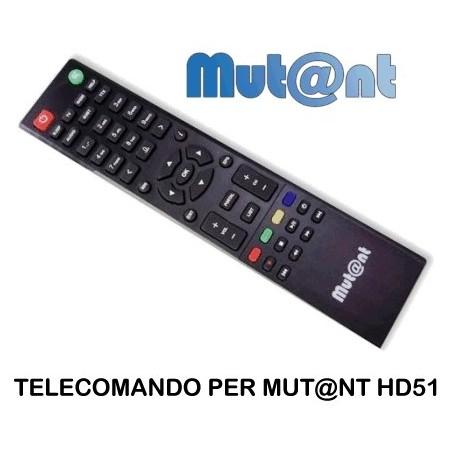 Telecomando originale per MUT@NT HD51