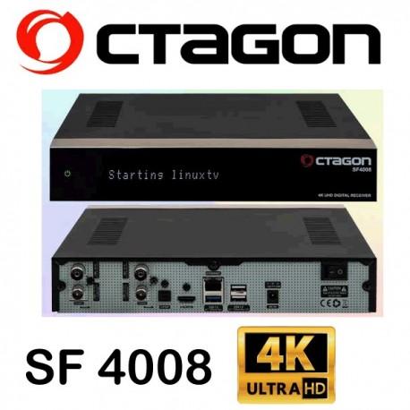 OCTAGON SF4008 UHD 4K 2160p Triple E2 Linux