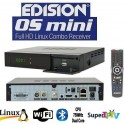 Edision Os mini Combo S2+T2 - WiFi - Bluetooth