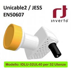 LNB INVERTO UNICABLE PER 32 UTENZE