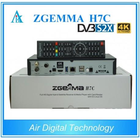 Zgemma H7C 4K Combo DVB-S2X + 2xDVB-T2
