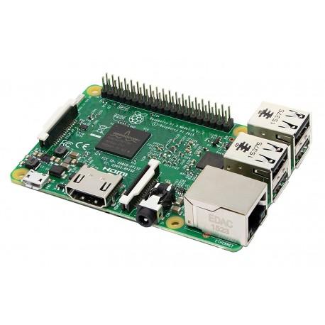 Raspberry PI 3 Model B Scheda madre CPU 1.2 GHz Quad Core, 1 GB RAM
