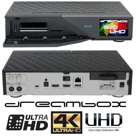 Dreambox 920 UHD 4K FBC / S2X Tuner 8GB 2xCI