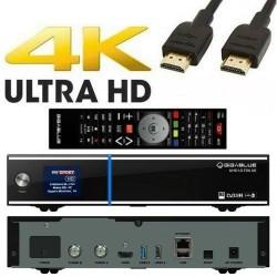 Gigablue UHD UE 4K 2xDVB-S2 FBC (8 demodulators) + Tuner DVB-C/T2 (H. 265)