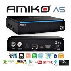 Amiko A5 COMBO 4K - Android 7.1 & Enigma2 (OpenATV)