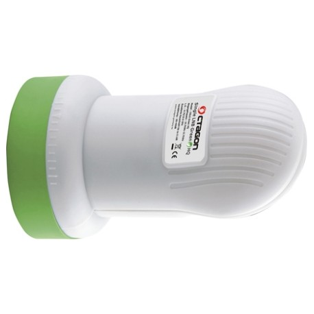LNB OCTAGON GREEN HQ - OSLG single PLL - 0,1 Db - (originale)