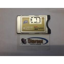 Cam Tivusat x card oro - HD - 4K - solo cam
