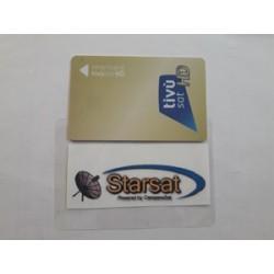 Tivùsat smart card HD - 4K - bollino oro