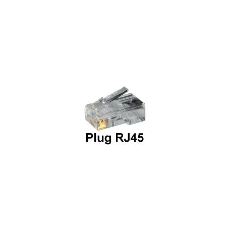 Plug RJ45 per Cavo di Rete - Cat. 5 (sped.gratis)