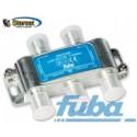 FUBA divisore sat - tv IF - 4 way/vie power pass