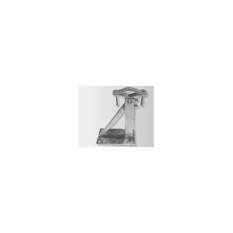 Zanca telescopica 4 fori rinforzata quadra - OMC art.0106