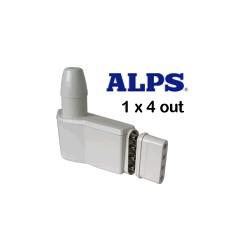 ALPS - LNB Univ. 0,3db - 4 uscite indipendenti (x sat 4-5 gradi)
