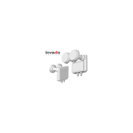 LNB Universal Monoblock Twin 23/40mm - 2 uscite 0.2db