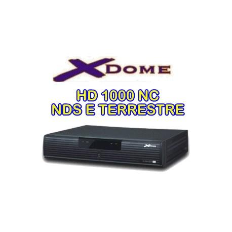 Prepagata 13 mesi + Xdome HD 1000 NC - NDS e DTT
