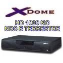 Prepagata 12 mesi calcio+ Xdome HD 1000 NC - NDS e DTT