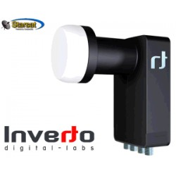 LNB Inverto Black Ultra Edition - Quad 0,2db - originale