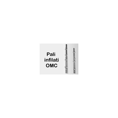 Palo infilato mt. 2 x 2 diametro 42/35 cod.0190