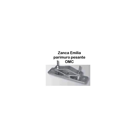 Zanca Emilia 2 Fori - parimuro - pesante 250/70/6 art.0049
