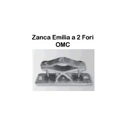 Zanca Emilia 2 Fori- cm30- piastra pesante 250/70/6 art.0058