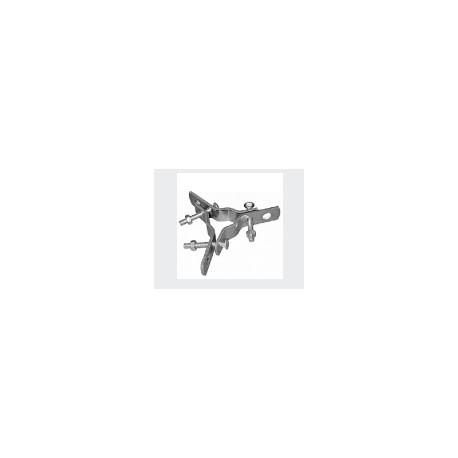 Ralla tris per tiranti da palo .OMC art.0308 (sped.gratis)