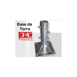 Base da terra OMC per pali da mm 55 max ECO - art. e031