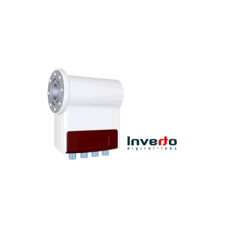 LNB Inverto BlackPro- Flangia c120 - HV-HV per centralizz 0,3db