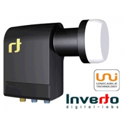 "LNB Inverto Unicable Scr Quad 40mm LNB, 2 Legacycon ""LTE"" (1 splitter*)"