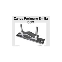 Zanca T/emilia p. muro per pali da 25/60 ECO - art. e012