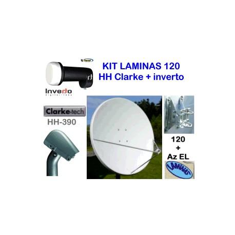 KIT motor 120 Laminas + HH Clarke 390 +inverto black ultra