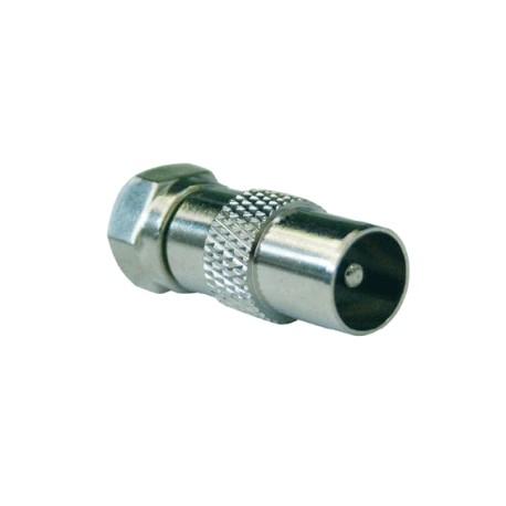 Adattatore coassiale spina TV 9,5 mm - SPINA F(sped.gratis)
