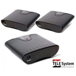 Ripetitore A/V Telesystem TWINY 1.2 - 1 trasmettitore e 2 ricevitori