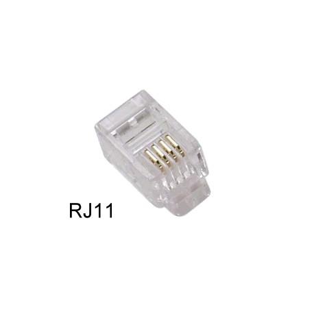 Wtyczka RJ11 dla kabla telefonicznego