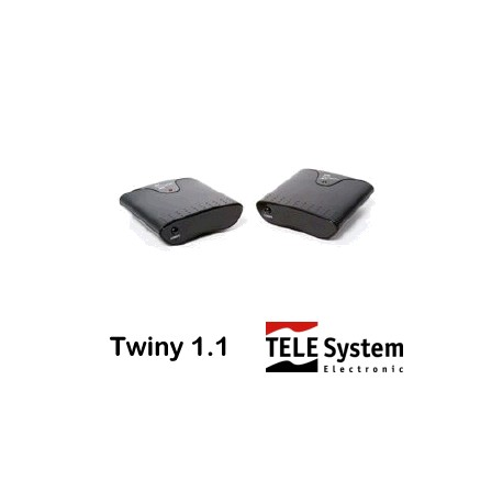 Ripetitore A/V Telesystem TWINY 1.1 - 1 trasm. e 1 ricevitore