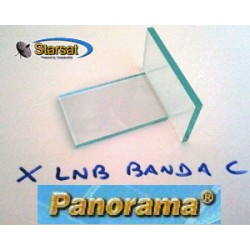 Dielettrico lamina in vetro per LNBF PANORAMA - Banda C