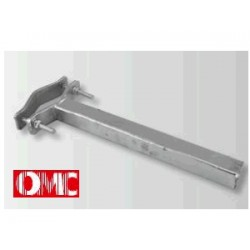Prolunga cm 80 quadra - tubo 40x40x3 - OMC art.0109