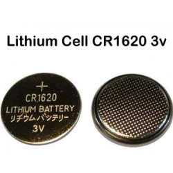 Nr. 1 Batteria a bottone - CR1620 - Lithium Cell - 3v (sped.grat