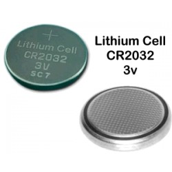 Nr. 1 Batteria a bottone - CR2032 - Lithium Cell - 3v