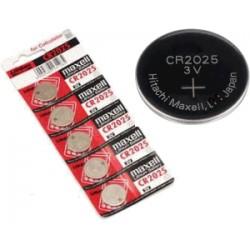 Nr. 1 Batteria a bottone -CR2025- Lithium Maxell - 3v (sped.grat