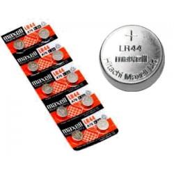 Nr. 1 Batteria bottone -LR44- Alkalina Maxell - 1,5v