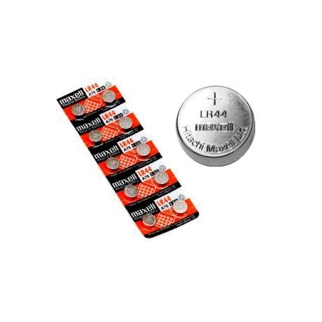 Nr. 1 Batteria bottone -LR44- Alkalina Maxell - 1,5v (sped.grat