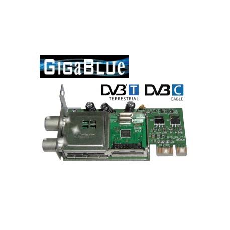 Tuner Gigablue DVB-T/C (sped.gratis)