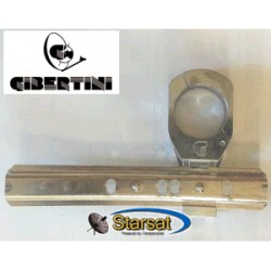 Staffa-binario per Gibertini XP - SE, con nr.1 supporto stretto