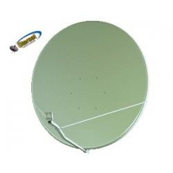 Parabola Gibertini 125 cm. OffSet Alluminio bianca (solo disco)