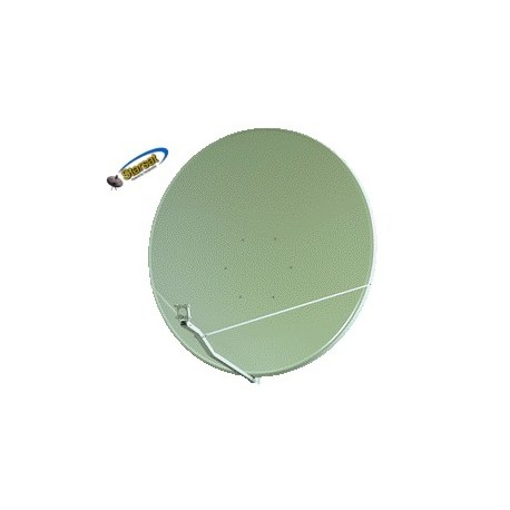 Parabola Gibertini 125 cm.OffSet Alluminio bianca (solo disco)