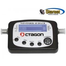 Octagon SF28 satfinder digitale con display LCD