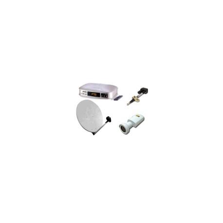 KIT Motorizz.125cm - Attuatore 18' - VBox II + Feed + LnbTWF