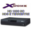 Xdome HD 1000 NC +Jenius + card Tivusat +prepagata 12 mesi